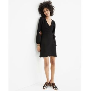 NWT Madewell Texture & Thread Side Tie Wrap Dress
